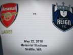 Reign end 1-1 with Arsenal; Fishlock back on pitch