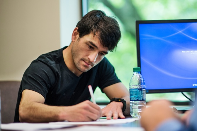 Lodeiro-Contract Signing