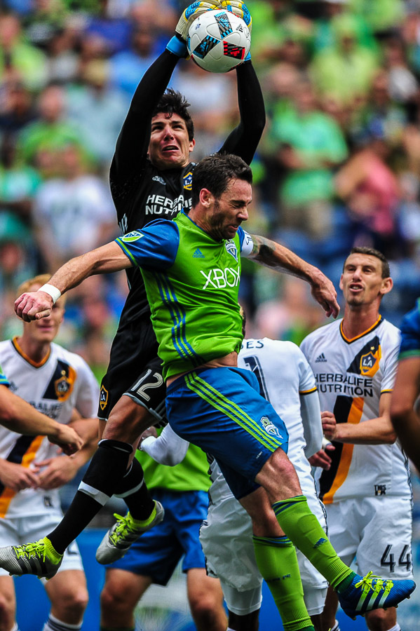 LA Galaxy at Seattle Sounders FC