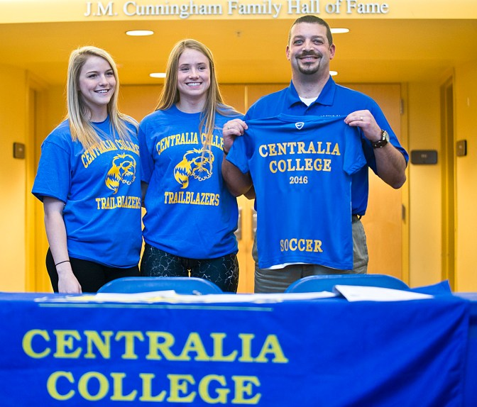 Centralia College Women's Soccer Signings