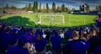 Record crowd of 3,419 watches Huskies edge Redhawks in inaugural WAC/101 Club Cup