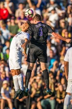 Washington Men's Soccer defeats Seattle University Redhawks 2-1