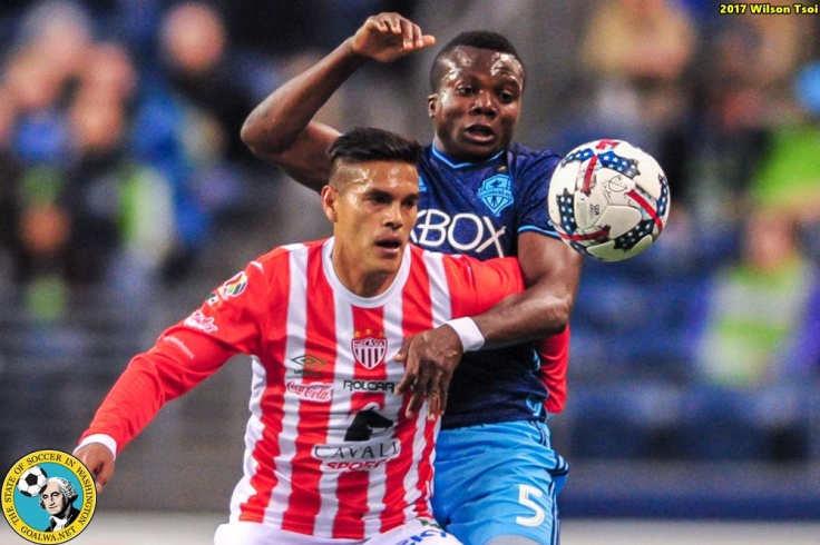 Sounders FC hosts Club Necaxa in a friendly
