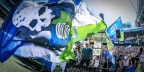 Early goal stands up as Sounders fell Timbers