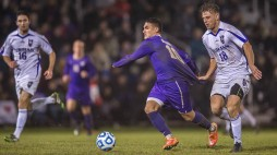 Washington men's soccer team defeats Furman in PK shootout in NCAA D1 second round at Husky Soccer Stadium on November 23, 2014