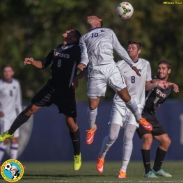 Washington men's soccer defeats San Diego State at Husky Soccer Stadium on October 26, 2014
