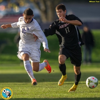 Washington men's soccer defeats San Diego State at Husky Soccer Stadium on October 26, 2014