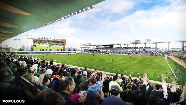 Tacoma stadium rendering