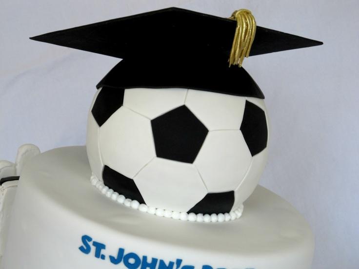 Soccer Grad Cake3