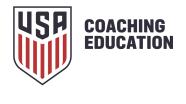 USSF Logo Crest CoachingEd