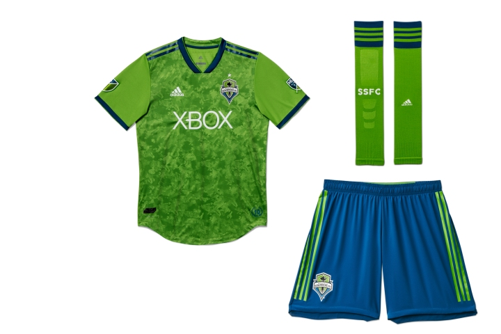 sports shoes 1a84c 373f1 Seattle Sounders unveil new primary jersey for 2018 season ...