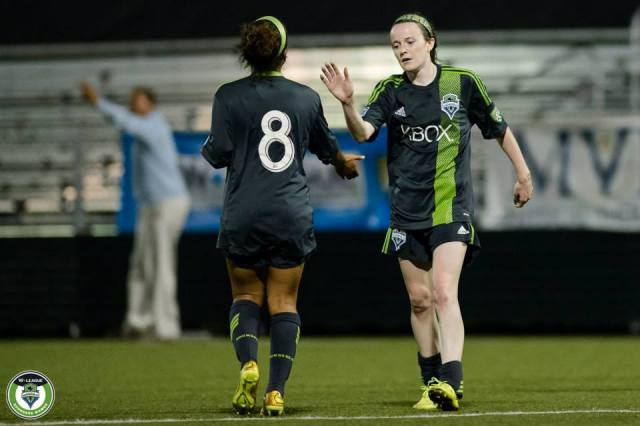 Sounders Women once featured Lavelle, Morgan, Rapinoe and others